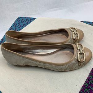 Coach ballet flats with Leather Cap Toe 8